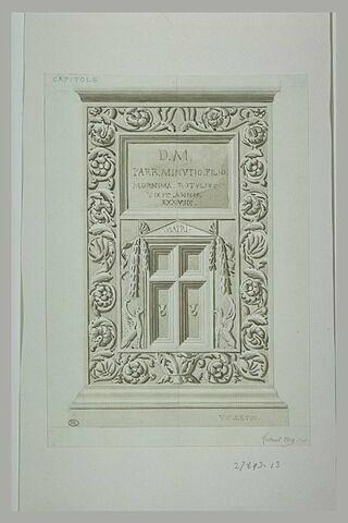 Rome : monument antique du musée du Capitole