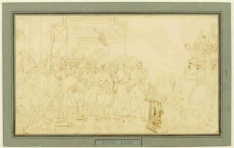 Le Départ de Louis XVIII des Tuileries, la nuit du 20 mars 1815