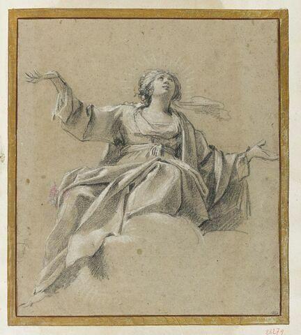 Vierge dans les nuées