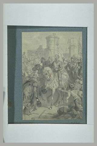 Entrée de Henri IV à Paris