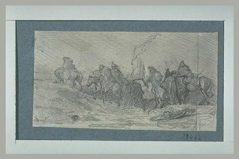 Napoléon passant les Alpes