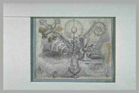 Ornements liturgiques et tiare