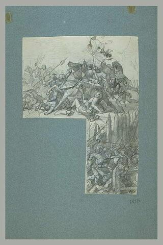 Jeanne d'Arc faite prisonnière
