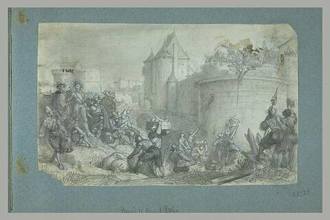 Henri IV au siège de Paris