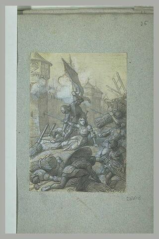 Jeanne d'Arc blessée