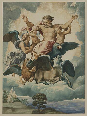 La Vision d'Ezéchiel, copie d'après Raphaël