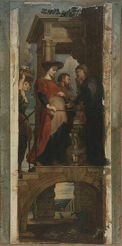 La Visitation, copie d'après Rubens