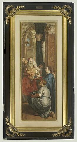La Présentation au temple, copie d'après Rubens