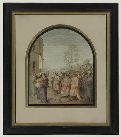 Le Cortège des Mages : copie d'après Andrea del Sarto