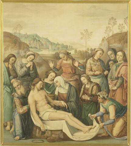 La Mort du Christ, copie d'après Le Pérugin