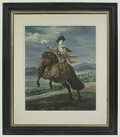 Portrait du prince Balthazar Carlos, copie d'après Velasquez