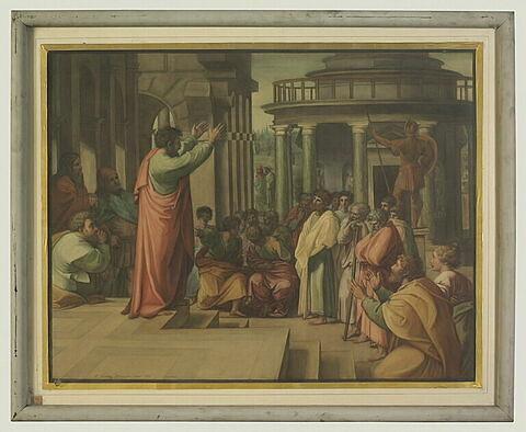 La Prédication de Saint Paul, copie d'après Raphaël
