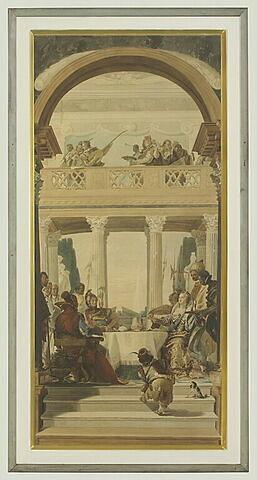 Le débarquement d'Antoine , copie d'après Tiepolo