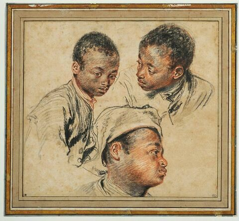 Trois études de jeune noir