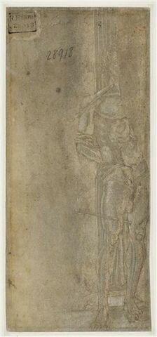 Saint Sébastien lié à la colonne et percé de flèches