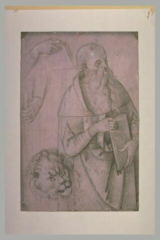 Saint Marc debout ou saint Jérôme