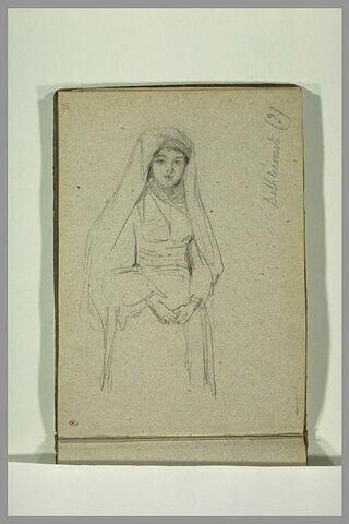 Portrait d'une femme de Bethléem