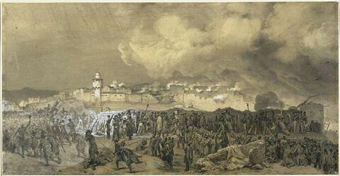 Le siège de Constantine : octobre 1837
