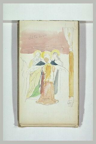 La Vierge évanouie et les saintes femmes