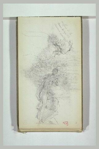 Etude de la Vénus du Capitole, et d'une statue antique