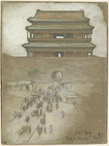 Porte de Chien-Man, à Pékin
