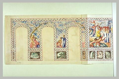 Les Deux Exaltations : le Triomphe de Flore, le Triomphe de Bacchus