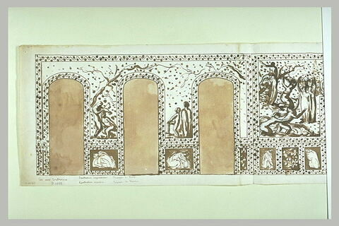 Les Deux Exaltations : le Triomphe de Flore et le Triomphe de Bacchus