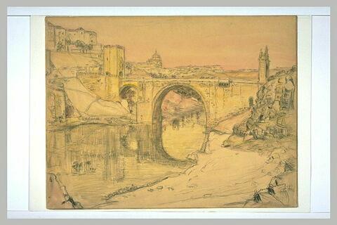Le Pont et la Ville de Tolède