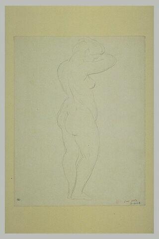Femme nue, de dos