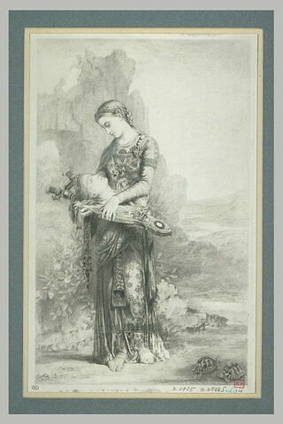 Jeune fille thrace portant la tête d'Orphée