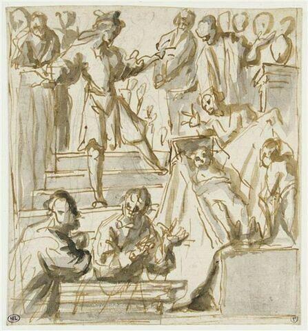 La vocation de saint François Borgia