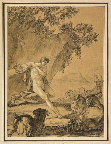 Apollon gardant les troupeaux d'Admète
