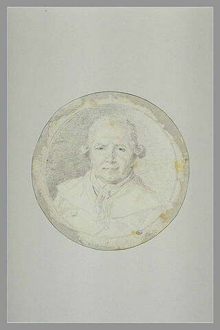 Autoportrait, en buste, de face