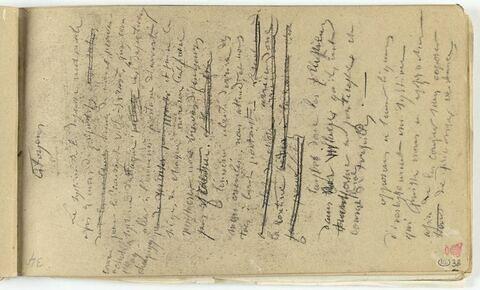 Texte manuscrit : 'Citoyen,...'.