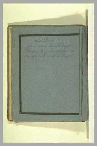 Annotation manuscrite : 'Saint Bonnet'