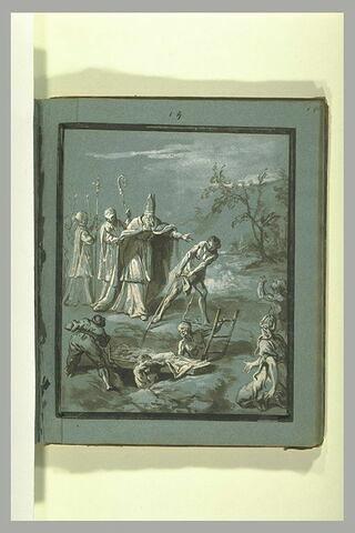 Transport du corps de saint Bonnet
