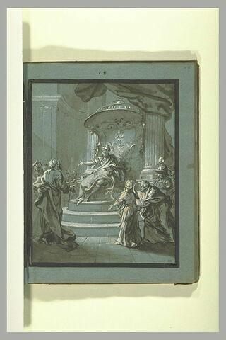 Sainte Prisque présentée à l'Empereur Claude