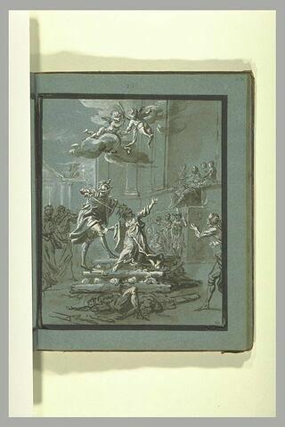 Martyre de saint Agnès