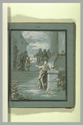 Saint Thimotée présenté à saint Paul