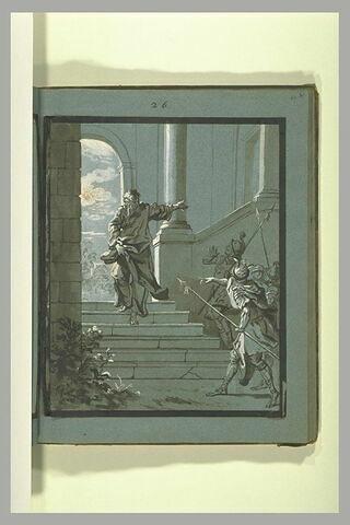 Arrestation de saint Polycarpe