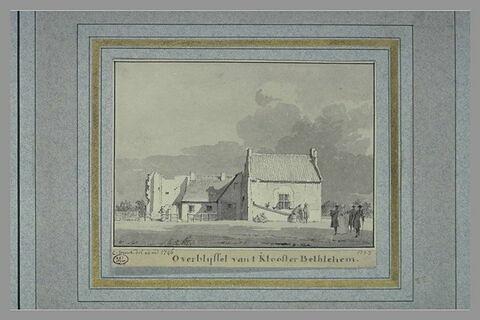 Ruines du monastère de Bethléem