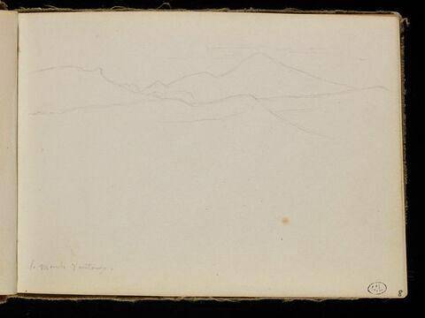 Un paysage montagneux