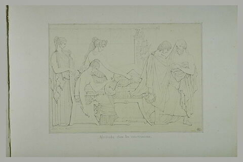 Alcibiade chez les courtisanes