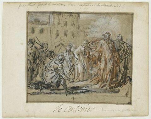 Jésus guérit le serviteur d'un centenier