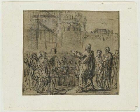 Jésus ressuscitant un mort