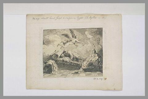 L'Apparition d'un ange à Joseph