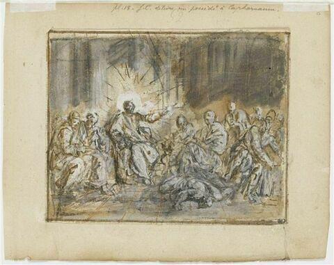 Jésus délivrant un possédé à Capharnaüm