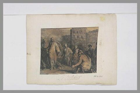 Jésus-Christ guérissant le serviteur d'un Centenier