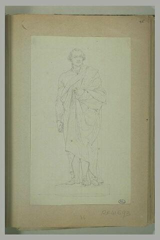Thétis consolant Achille pleurant Patrocle
