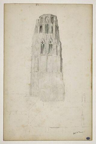 Tour d'une église gothique